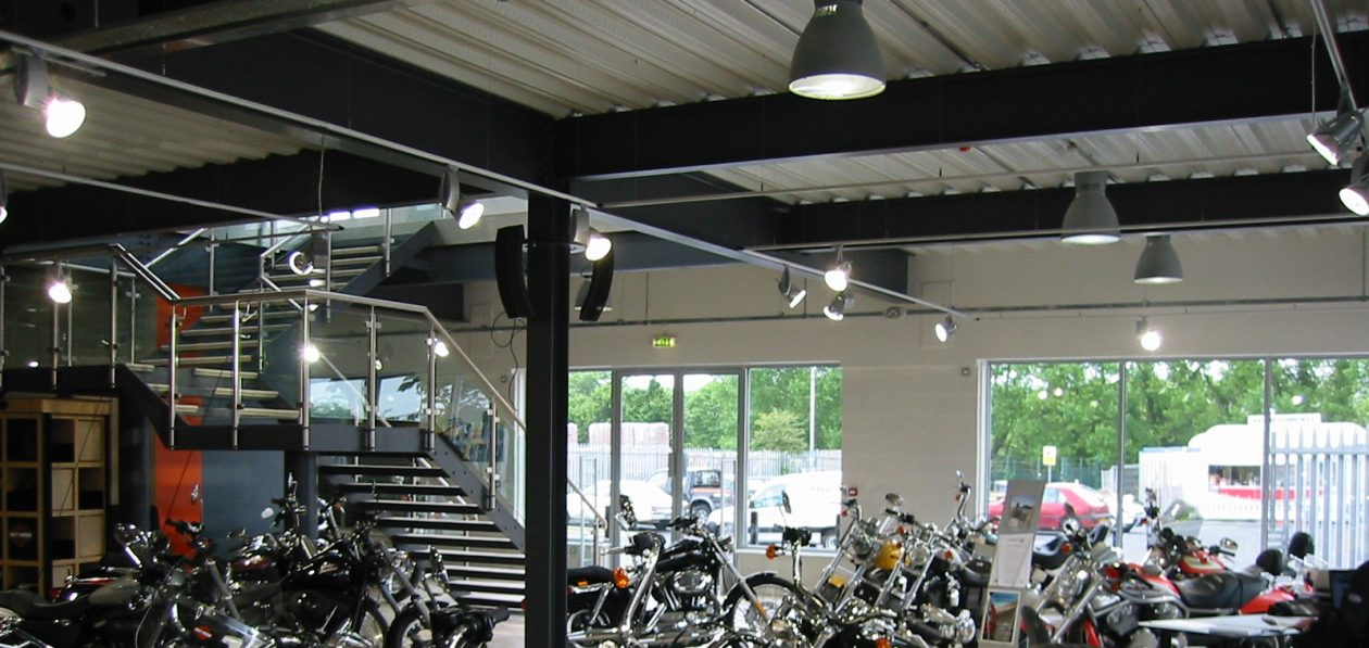 BMW / Harley Davidson Showroom