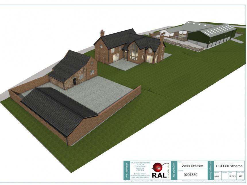 Farmhouse, Lancashire image